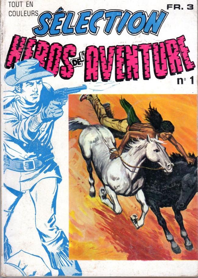 Couverture de Les héros de l'aventure (Classiques de l'aventure, Puis) -RecHS1- Album Selection N°1 (HS01, HS02)
