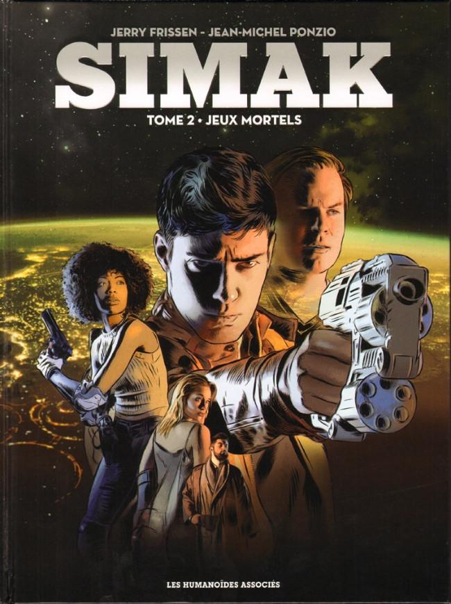 Couverture de Simak -2- Jeux mortels