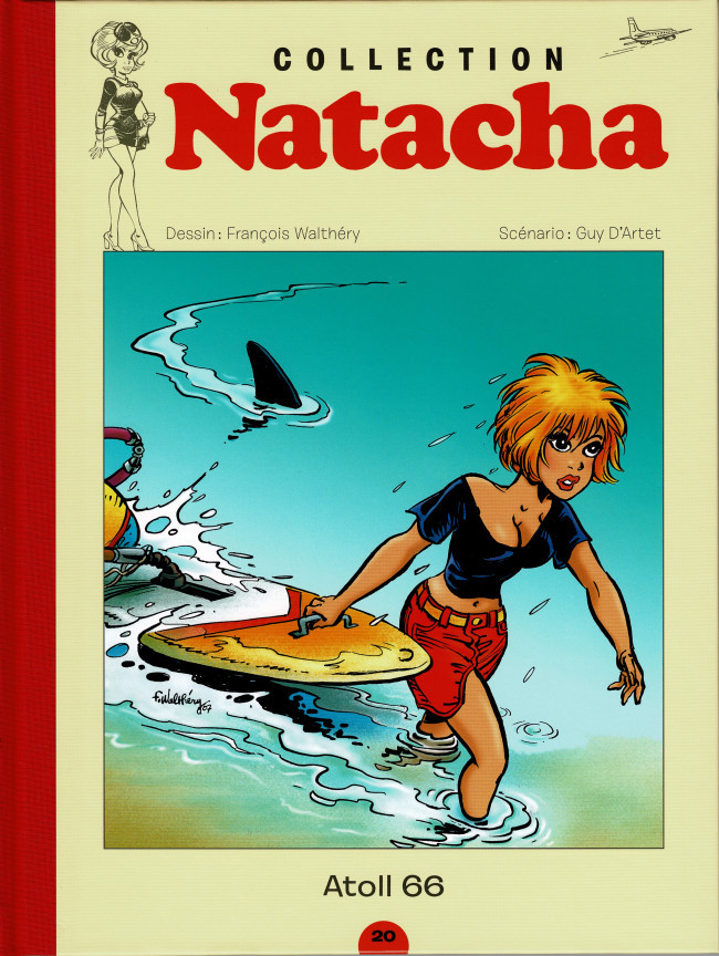 Couverture de Natacha - La Collection (Hachette) -20- Atoll 66