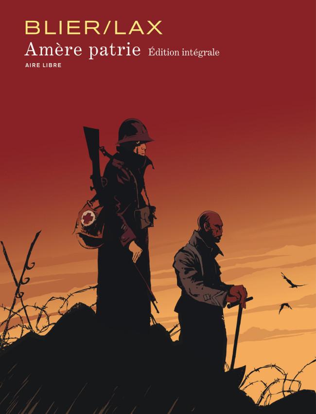 Couverture de Amère patrie -INT- Edition Intégrale