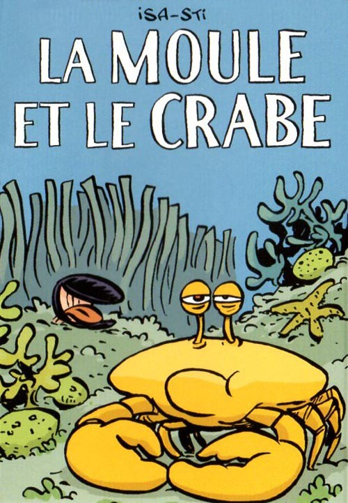 Couverture de Mini-récits et stripbooks Spirou -MR4176- La moule et le crabe