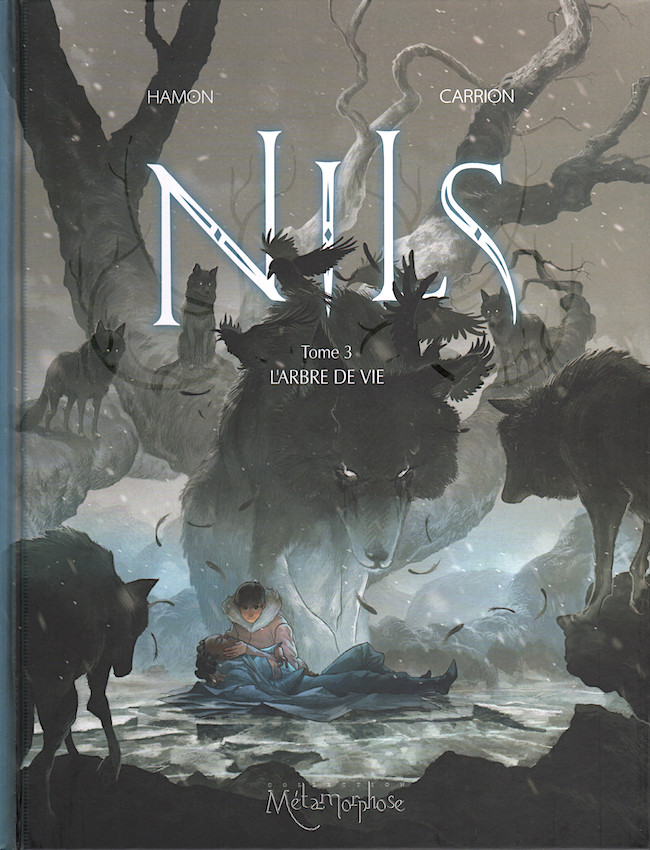 Couverture de Nils -3- L'Arbre de vie