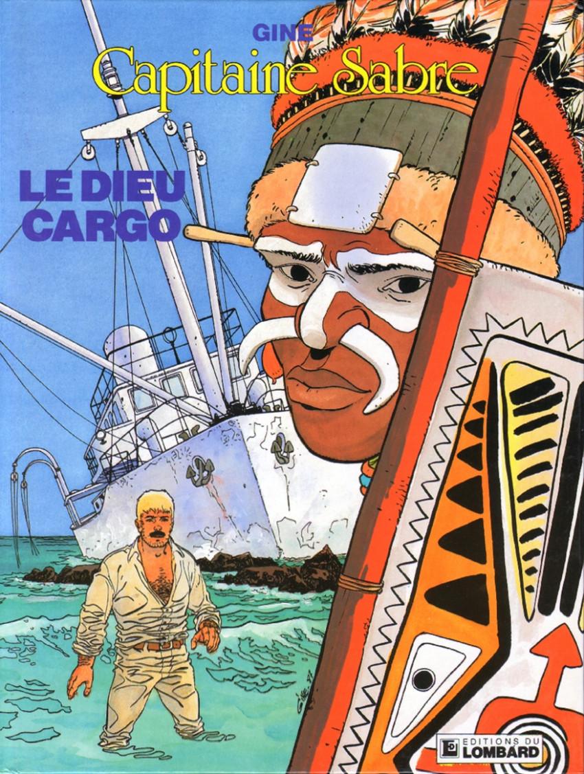 Couverture de Capitaine Sabre -6- Le dieu cargo