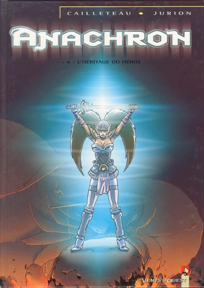 Couverture de Anachron -4- L'héritage du Héros