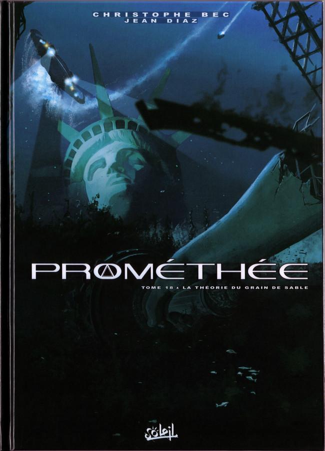 Couverture de Prométhée -18- La théorie du grain de sable