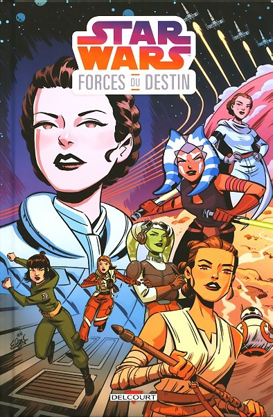 Couverture de Star wars - forces du destin - Forces du destin