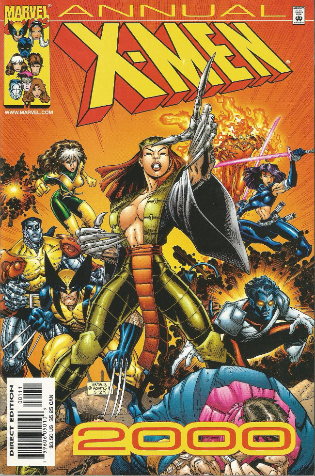 Couverture de X-Men (1991) -AN2000- Mutie.Dead