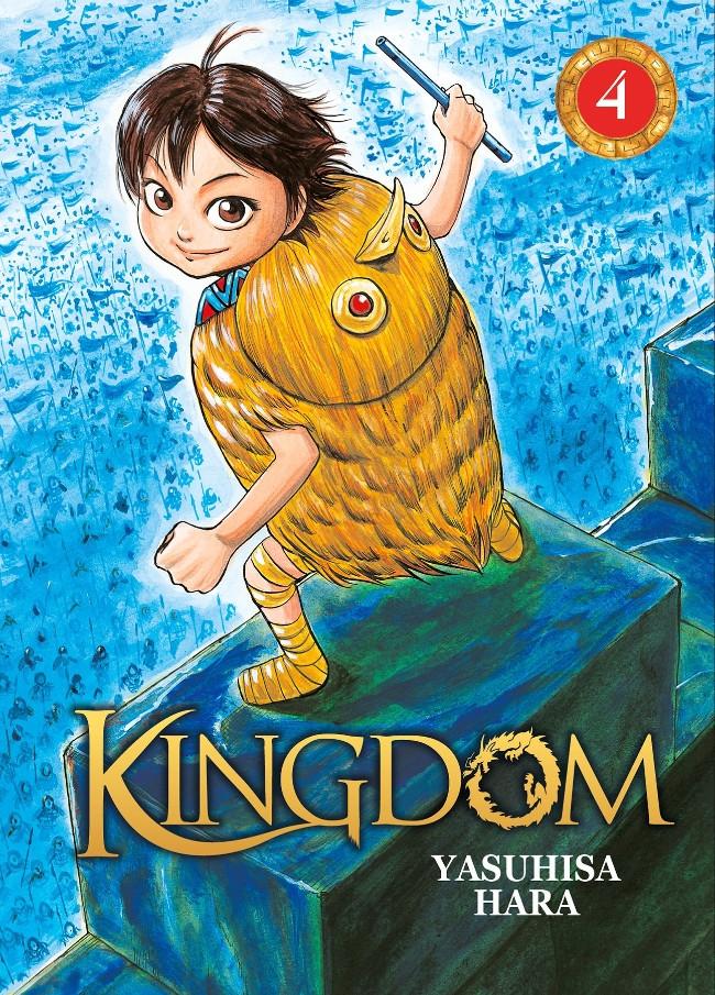 Couverture de Kingdom -4- Tome 4