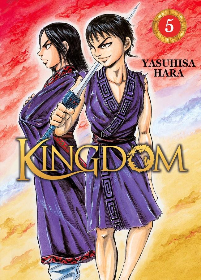 Couverture de Kingdom -5- Tome 5