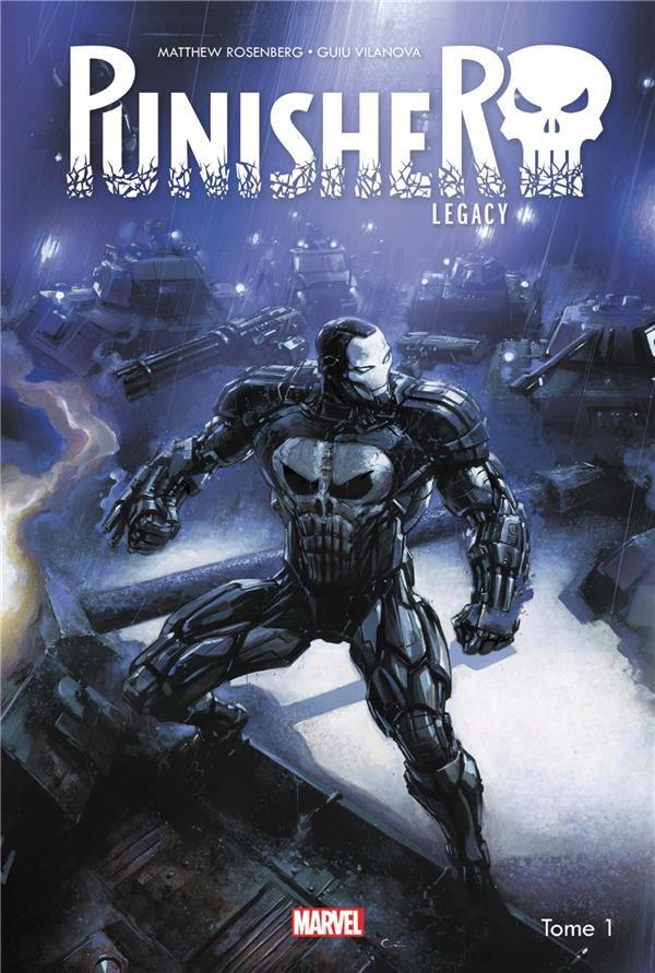 Couverture de Punisher Legacy -1- War Machine