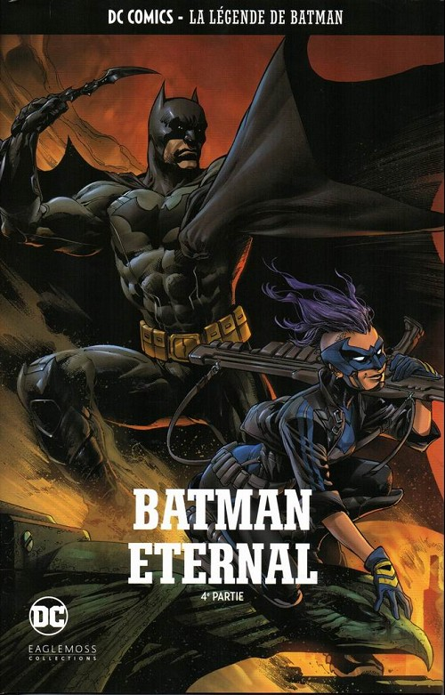 Couverture de DC Comics - La légende de Batman -HS4- Batman eternal - 4e partie