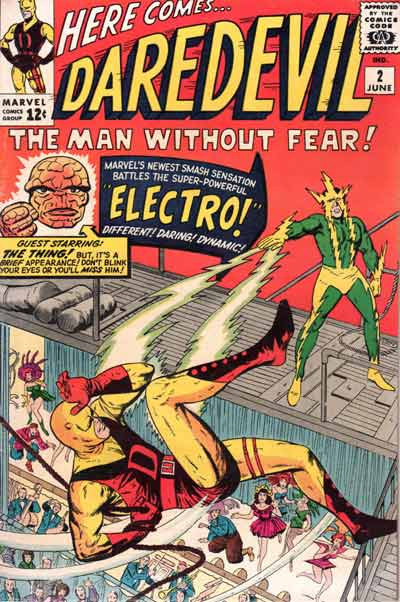 Couverture de Daredevil (1964) -2- The Evil Menace of Electro!