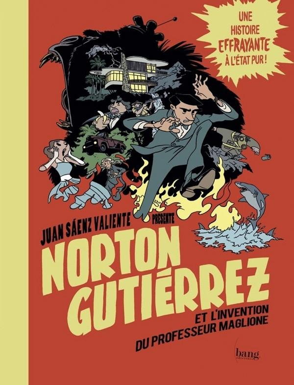 Couverture de Norton Gutiérrez -2- Et l'invention du professeur Maglione