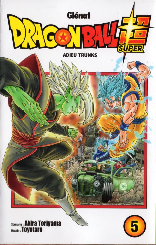 Couverture de Dragon Ball Super -5- Adieu trunks
