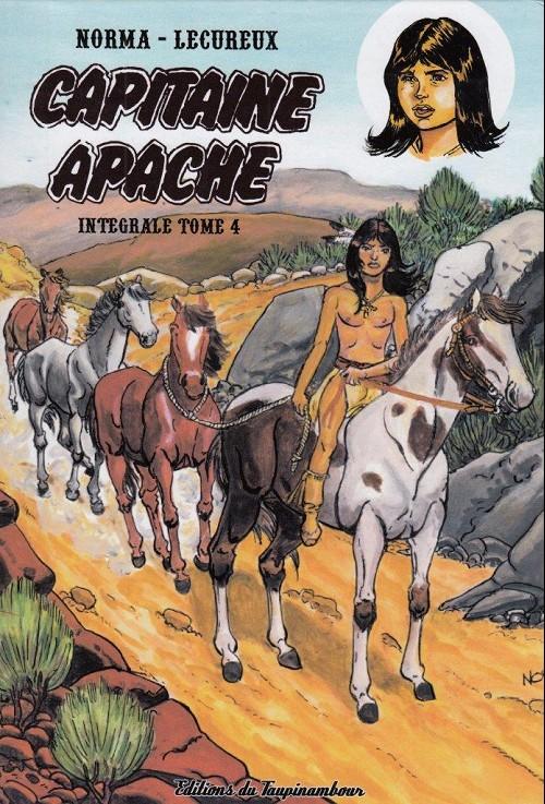 Couverture de Capitaine Apache -INT4- Intégrale tome 4