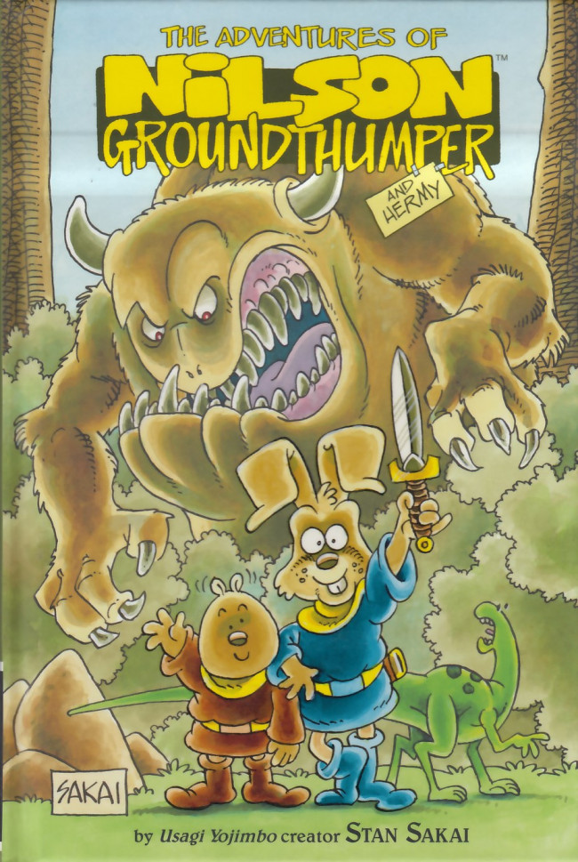 Couverture de Adventures of Nilson Groundthumper and Hermy (The) (2014) - The Adventures of Nilson Groundthumper and Hermy