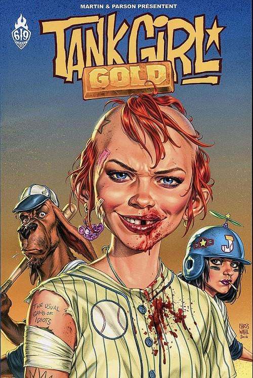 Couverture de Tank Girl -10- Gold
