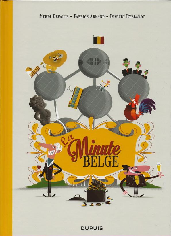 Couverture de La minute Belge - La Minute Belge