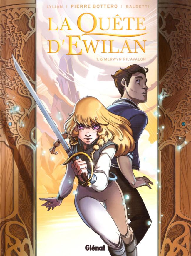 Couverture de La quête d'Ewilan -6- Merwyn Ril'Avalon