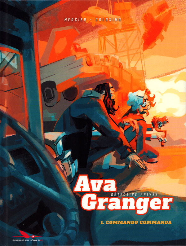 Couverture de Ava Granger -1- Commando Commanda