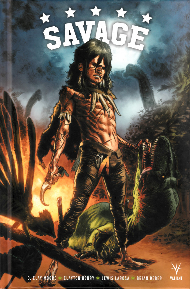 Couverture de Savage (Valiant) - Savage