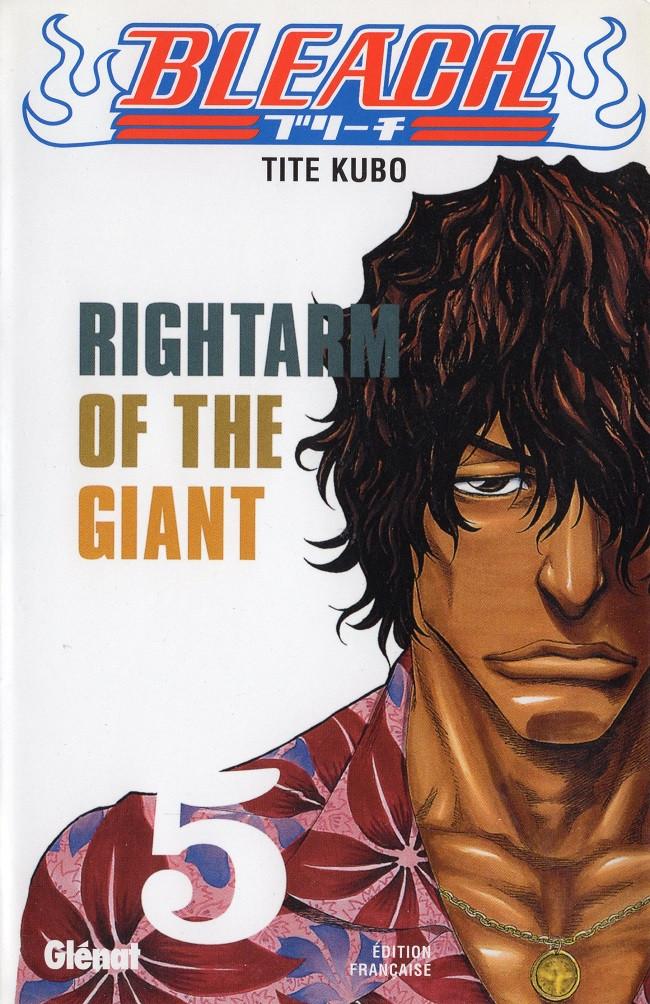Couverture de Bleach -5- Rightarm of the Giant