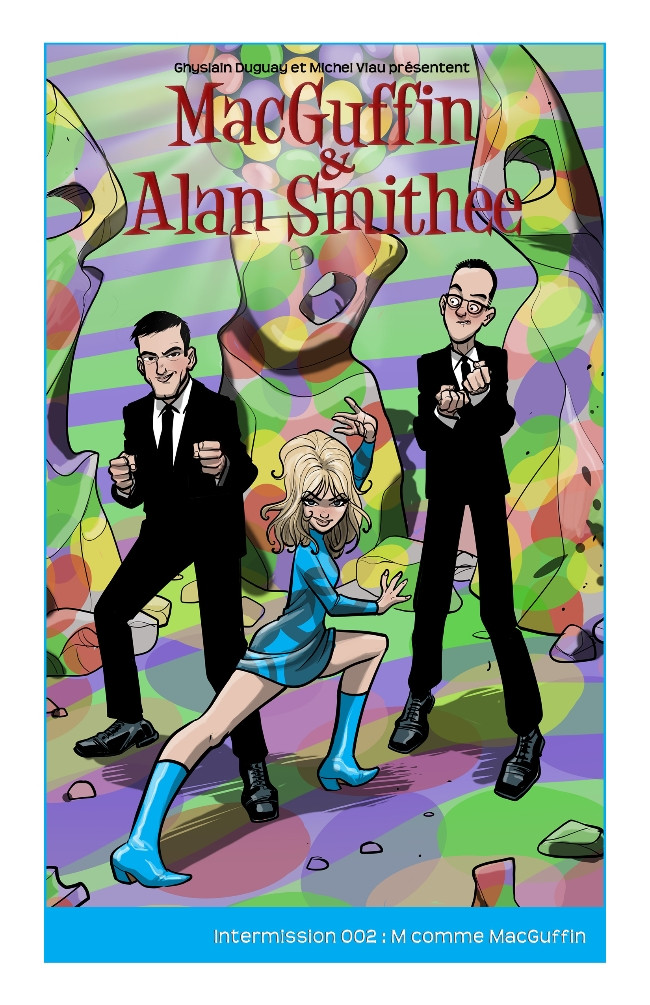 Couverture de MacGuffin & Alan Smithee -HS2- M comme MacGuffin