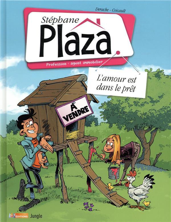 Couverture de Stéphane Plaza - Profession : agent immobilier -2- L'amour est dans le prêt