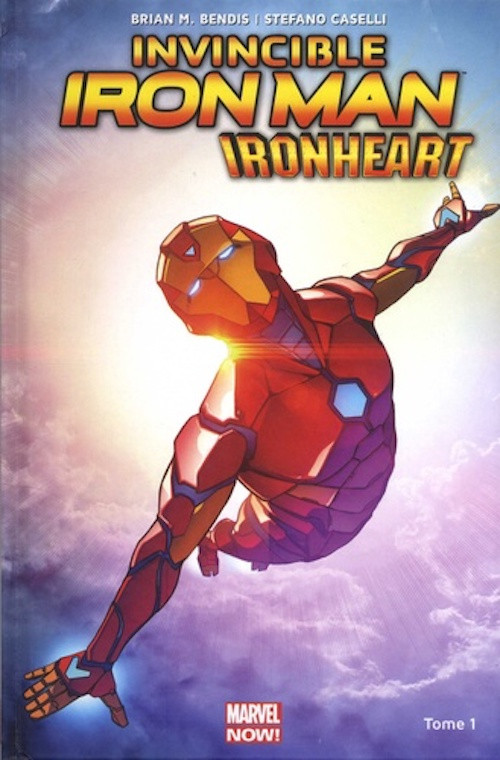Couverture de Invincible Iron Man : Ironheart -1- Naissance d'une héroïne