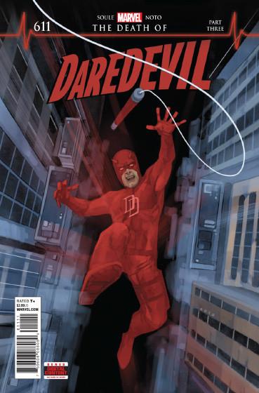 Couverture de Daredevil (1964) -611- The Death of Daredevil - Part 3 : Phobophobia