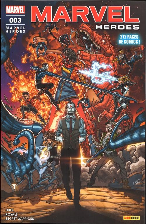 Couverture de Marvel Heroes (Marvel France - 2018) -3- Sinistre machination