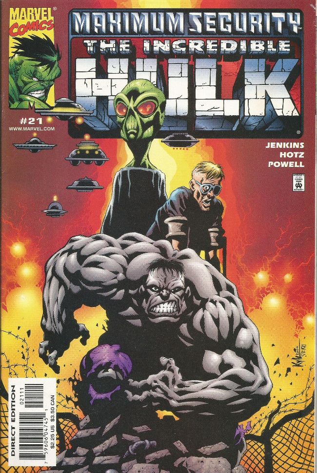 Couverture de Incredible Hulk (The) (Marvel comics - 2000) -21- The truth is really