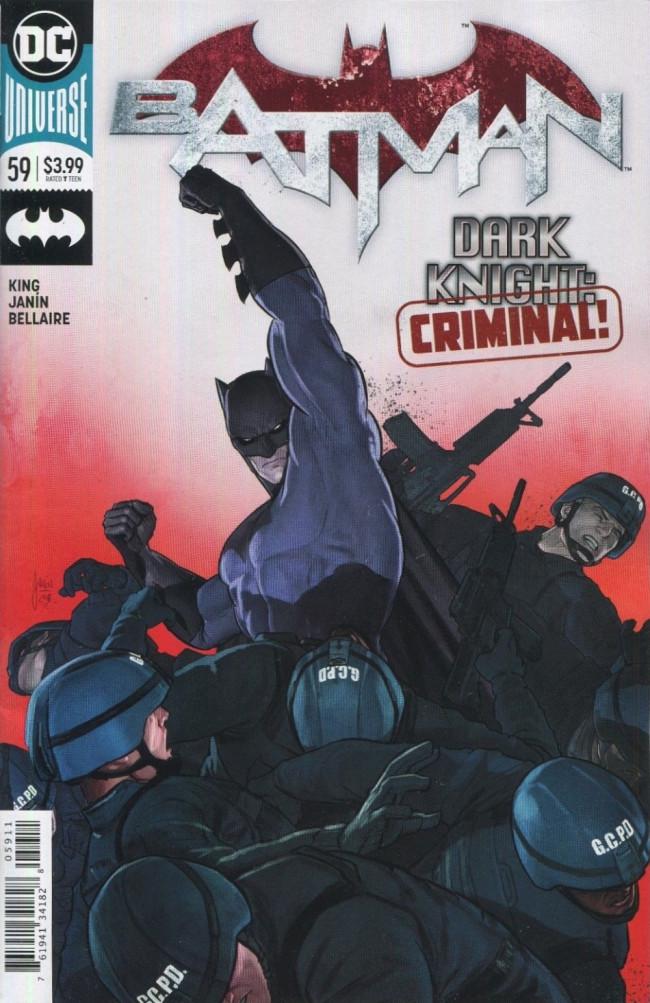Couverture de Batman (2016) -59- The Tyrant Wing, Part Two