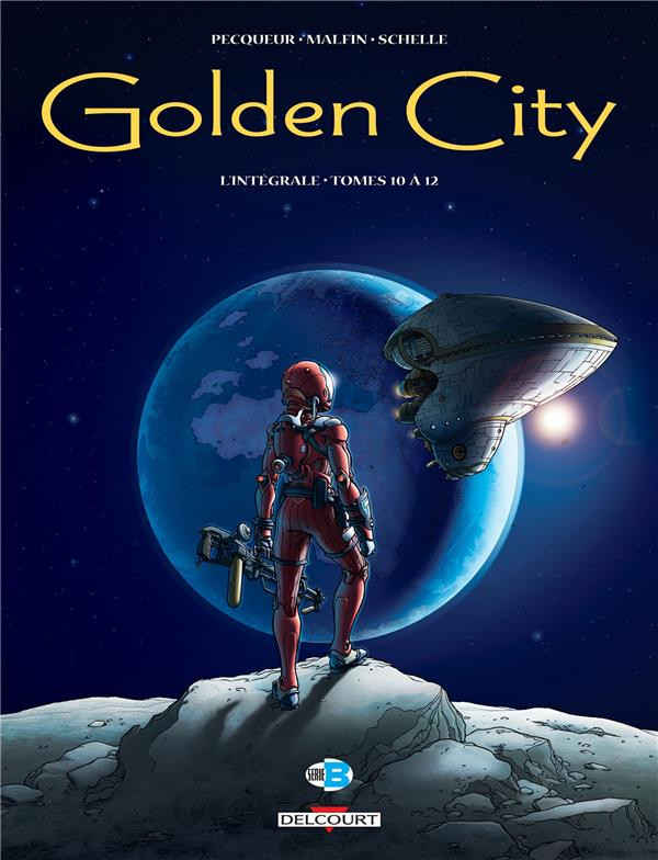 Couverture de Golden City -INT4- Intégrale - Tomes 10 à 12