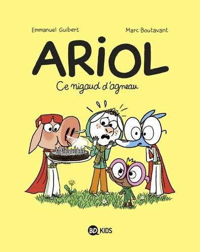 Couverture de Ariol (2e Série) -14- Ce nigaud d'agneau