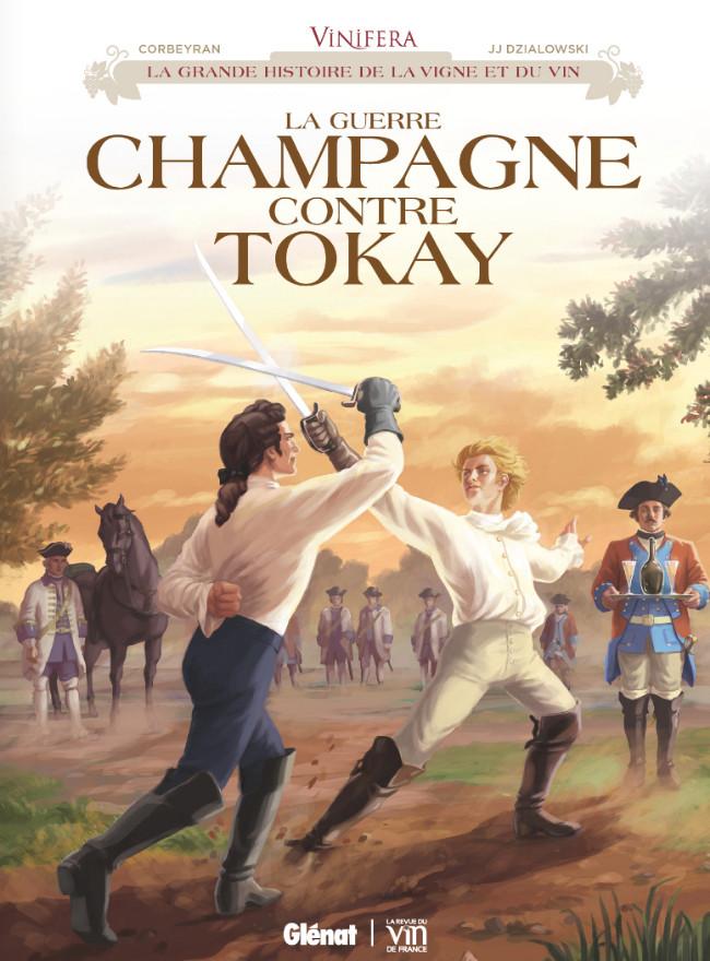 Couverture de Vinifera -3- La guerre Champagne contre Tokay