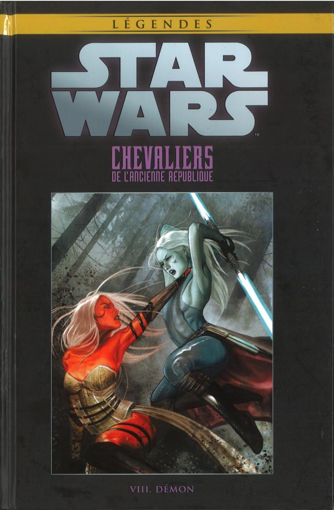 Couverture de Star Wars - Légendes - La Collection (Hachette) -7917- Chevaliers de L'Ancienne République - VIII. Démon