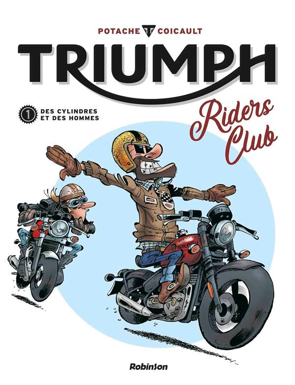 Couverture de Triumph Riders Club -1- Les riders à Coventry