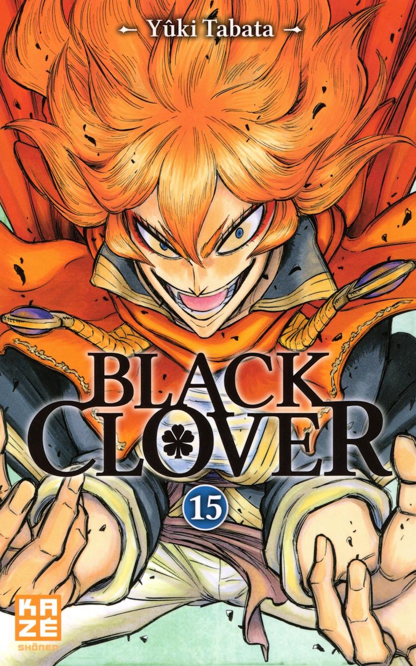 Couverture de Black Clover -15- Tome 15