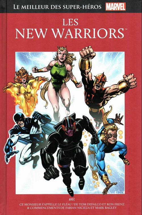Couverture de Marvel Comics : Le meilleur des Super-Héros - La collection (Hachette) -75- Les new warriors