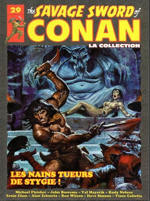 Couverture de Savage Sword of Conan (The) - La Collection (Hachette) -29- Les nains tueurs de stygie !