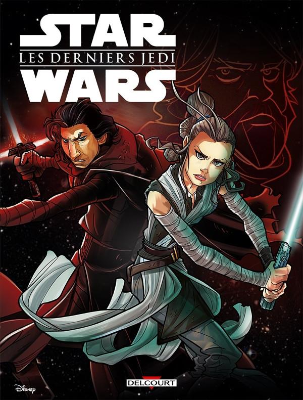 Couverture de Star Wars (Delcourt / Disney) -8- Les Derniers Jedi