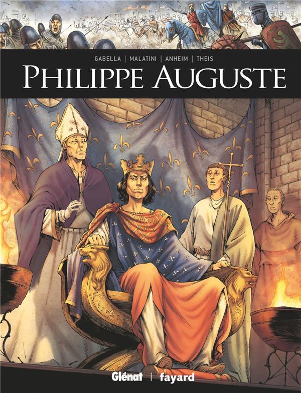 Couverture de Ils ont fait l'Histoire -30- Philippe Auguste