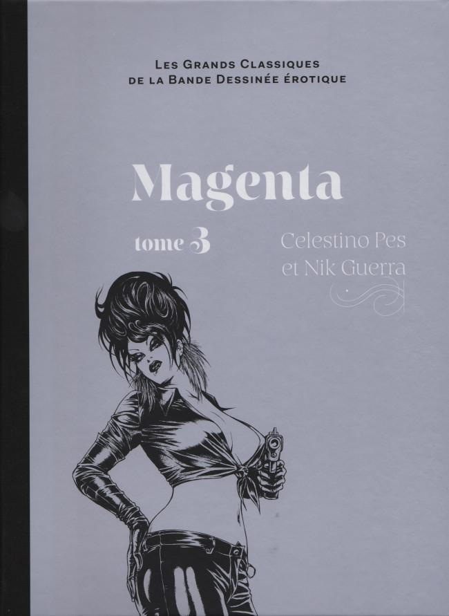 Couverture de Les grands Classiques de la Bande Dessinée érotique - La Collection -6954- Magenta - tome 3