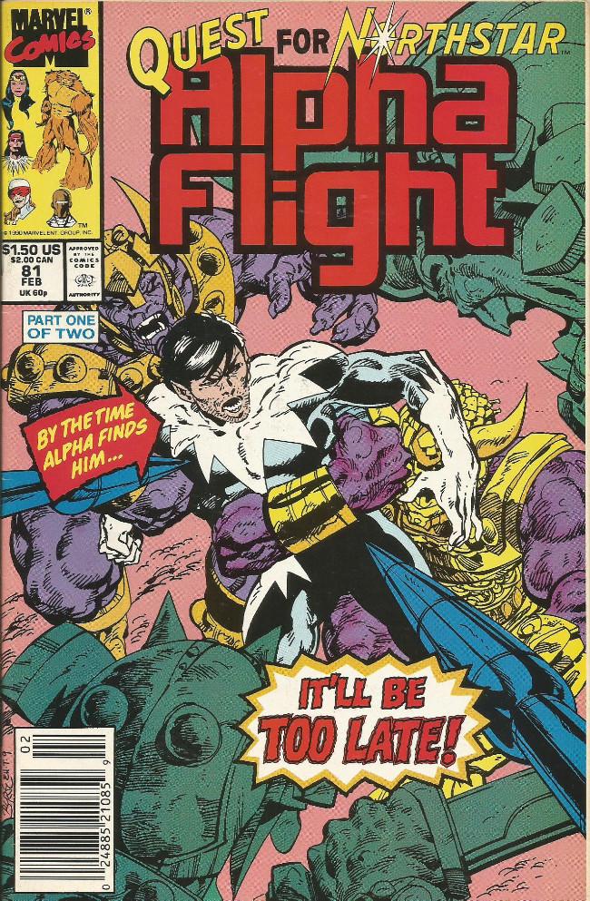 Couverture de Alpha Flight (Marvel comics - 1983) -81- Prisoners