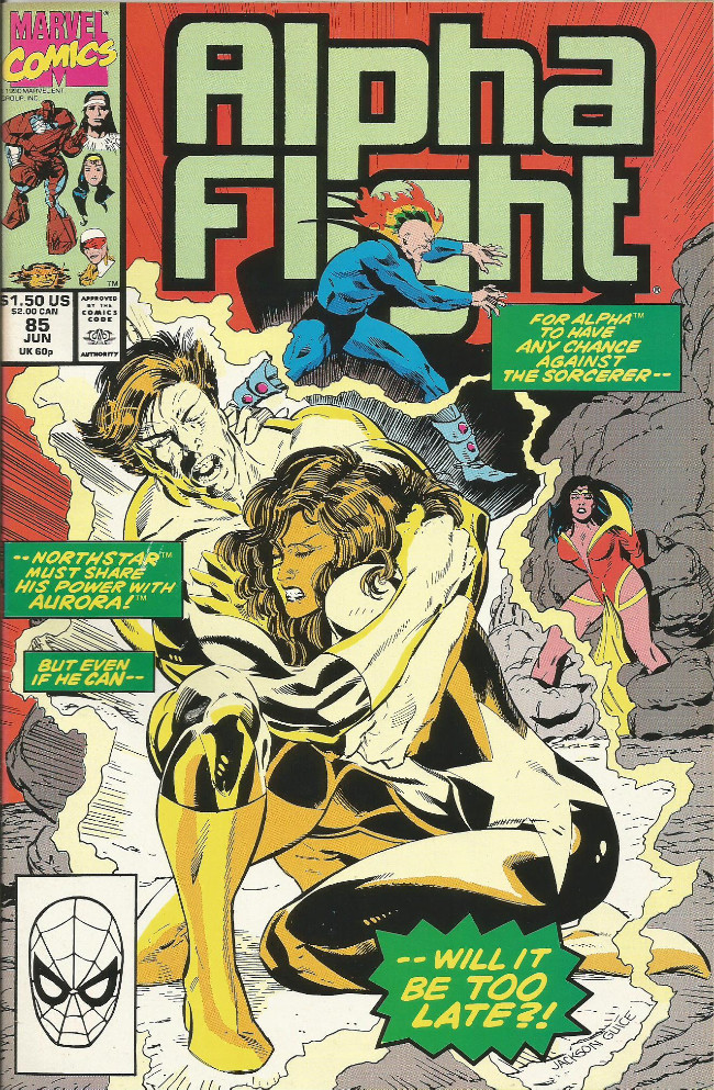 Couverture de Alpha Flight (Marvel comics - 1983) -85- Marching To Doom