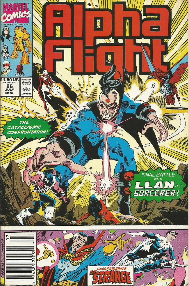 Couverture de Alpha Flight (Marvel comics - 1983) -86- The End of All Things