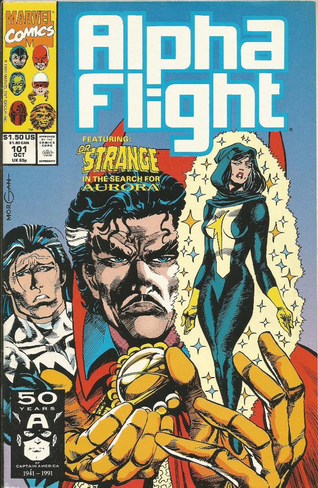Couverture de Alpha Flight (Marvel comics - 1983) -101- Death and How To Live It