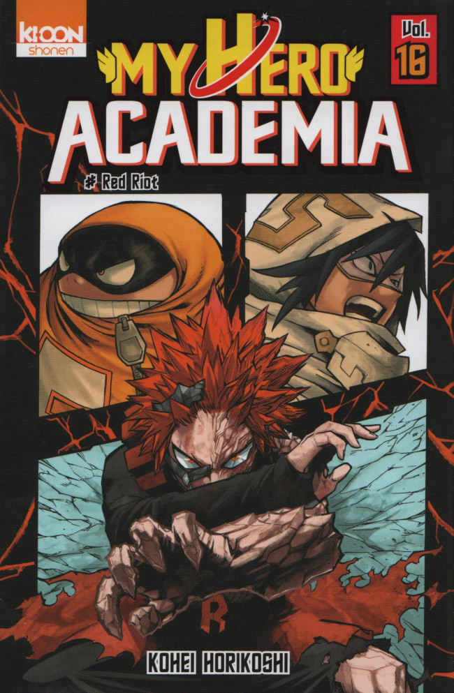Couverture de My Hero Academia -16- Red Riot