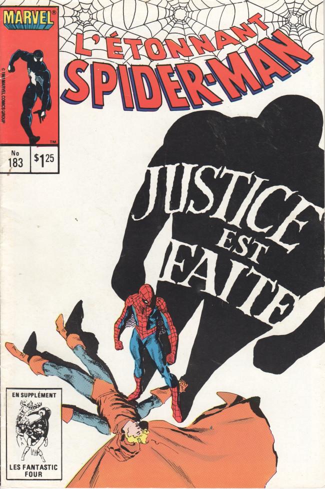 Couverture de L'Étonnant Spider-Man (Éditions Héritage) -183-